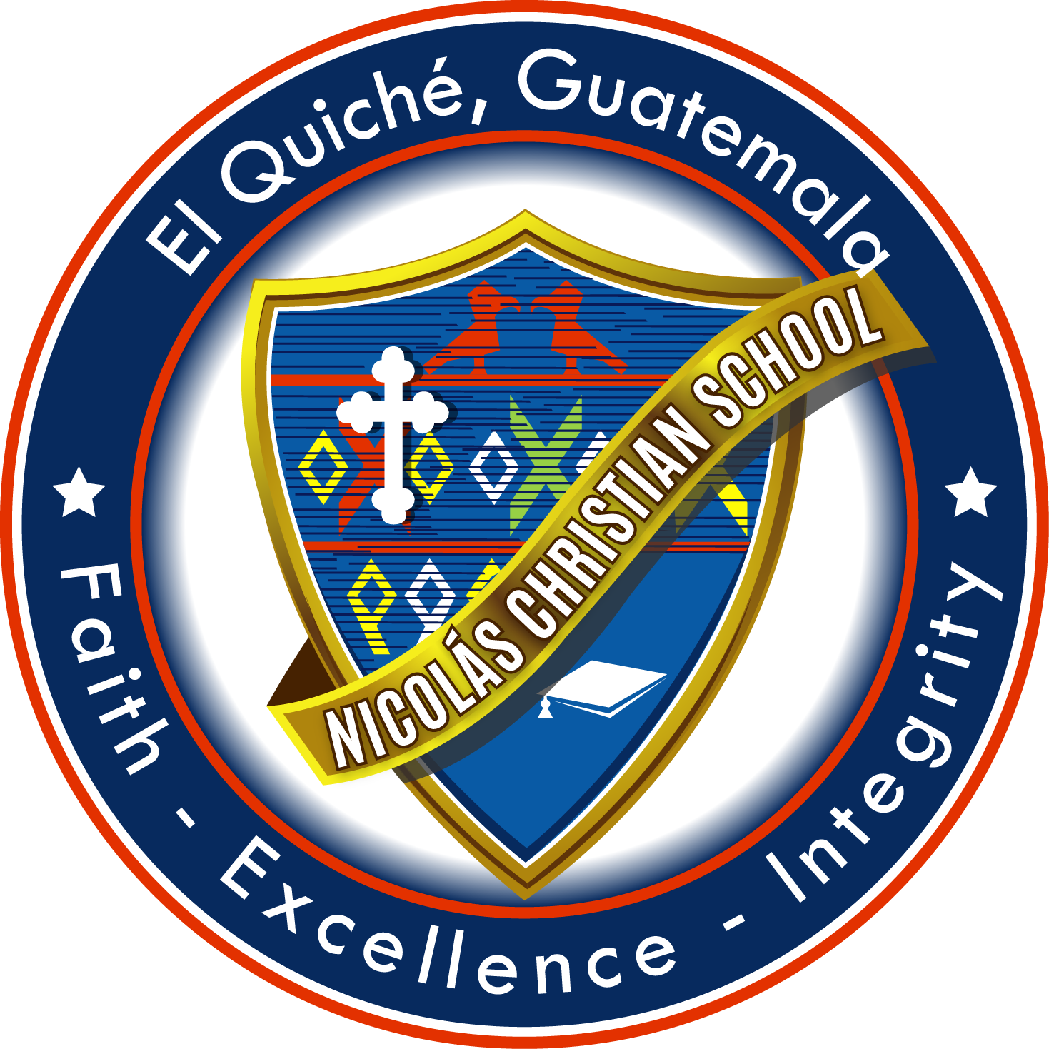 Nicolas Christian School Seal